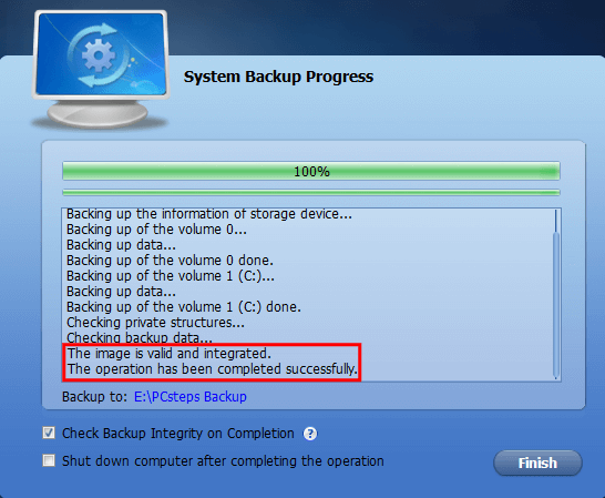Full Windows Backup as an Image with AOMEI Backupper 15