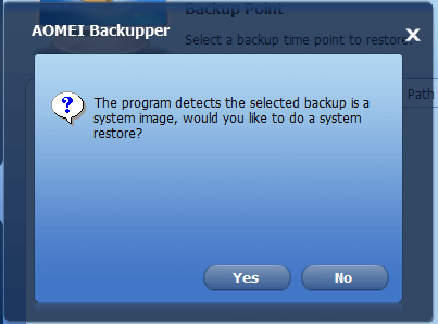 Full Windows Backup as an Image with AOMEI Backupper 25