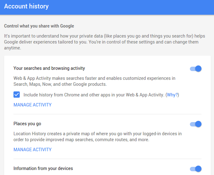 How to Download my Personal Google Search History 13