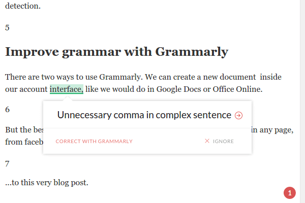 Improve Grammar and Spelling in English with Grammarly 11