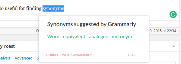 Improve Grammar and Spelling in English with Grammarly 14