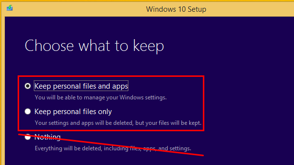 Uninstall Windows 10 and Revert to Previous Windows 00