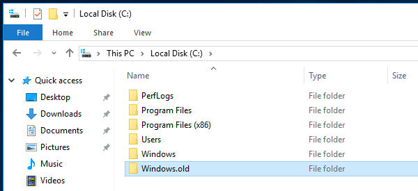 Uninstall Windows 10 and Revert to Previous Windows 01