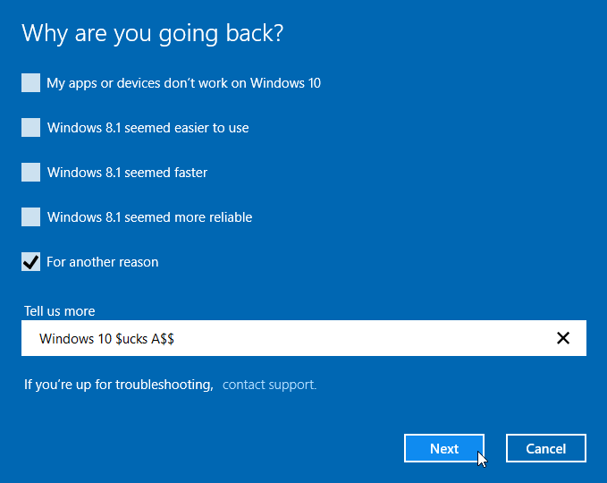 Uninstall Windows 10 and Revert to Previous Windows 05