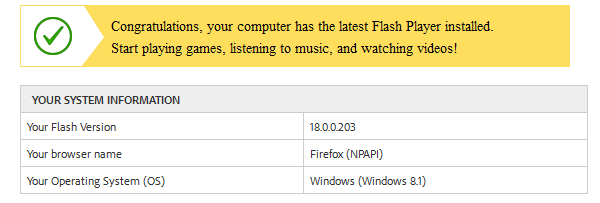 Update Flash Player - How to do it Safely 00b