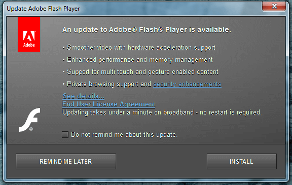 Update Flash Player - How to do it Safely 05a