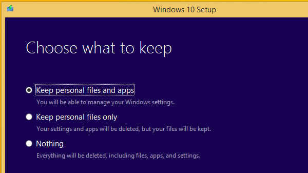 Upgrade Windows 8.1 to Windows 10 Without a Reservation 07