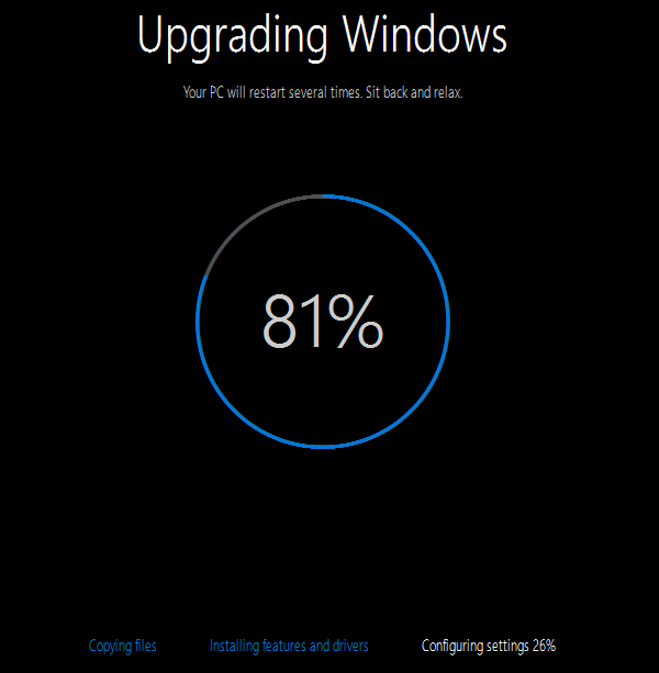 Upgrade Windows 8.1 to Windows 10 Without a Reservation 10
