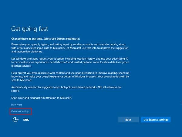 Upgrade Windows 8.1 to Windows 10 Without a Reservation 12