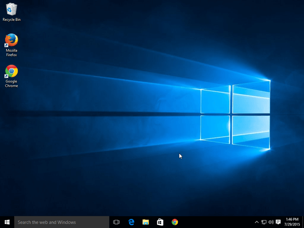 Upgrade Windows 8.1 to Windows 10 Without a Reservation 17
