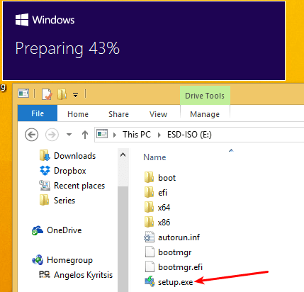 Upgrade Windows 8.1 to Windows 10 Without a Reservation 23