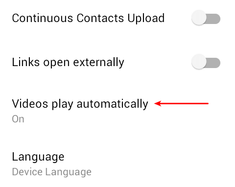 Disable Auto-playing videos on Facebook 07