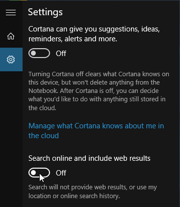 Disable Bing Search in Windows 10, or Replace with Google 04
