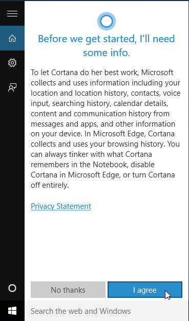 Enable Cortana for Windows 10 in an Unsupported Country 08