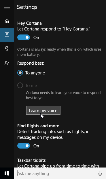 Enable Cortana for Windows 10 in an Unsupported Country 10b