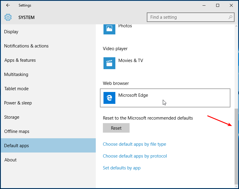 How to Change Default Browser in Windows 10 03