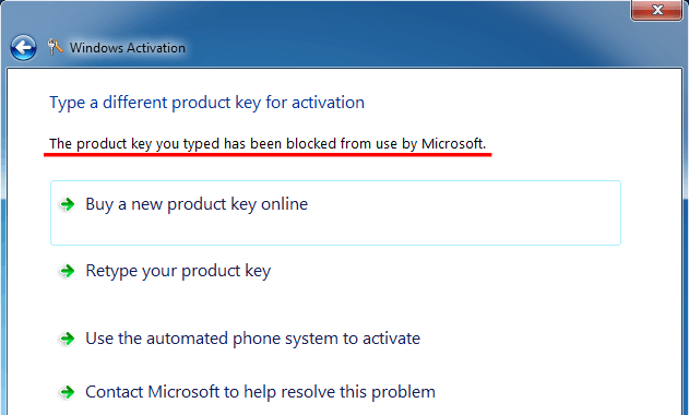 microsoft activate windows by phone