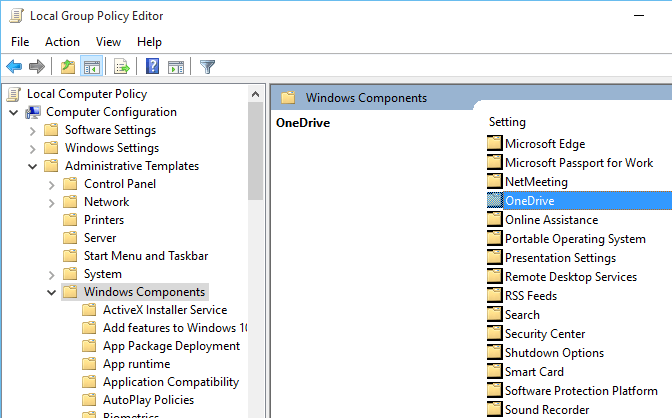 Uninstall OneDrive in Windows 10 - or Just Disable It 03