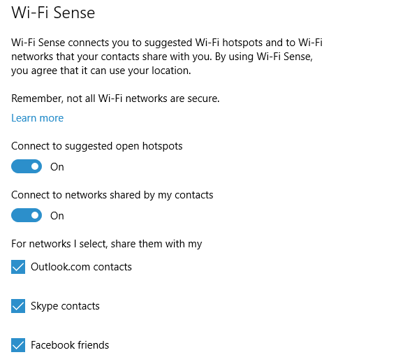 Why Disable Wi-Fi Sense in Windows 10, If It's Safe 04