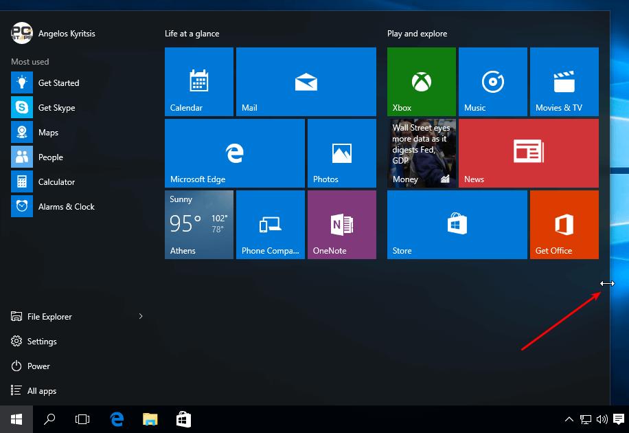 Windows 10 Start Menu - How to Customize It 02