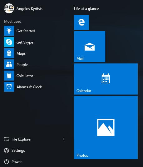 Windows 10 Start Menu - How to Customize It 04b