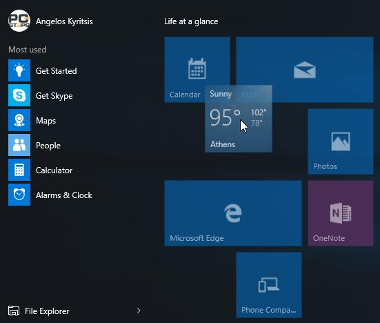 Windows 10 Start Menu - How to Customize It 04c