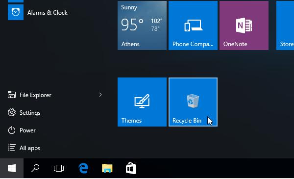 Windows 10 Start Menu - How to Customize It 12