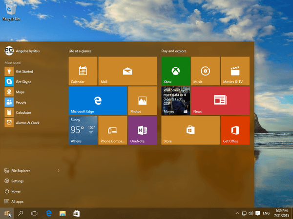 Windows 10 Start Menu - How to Customize It 23