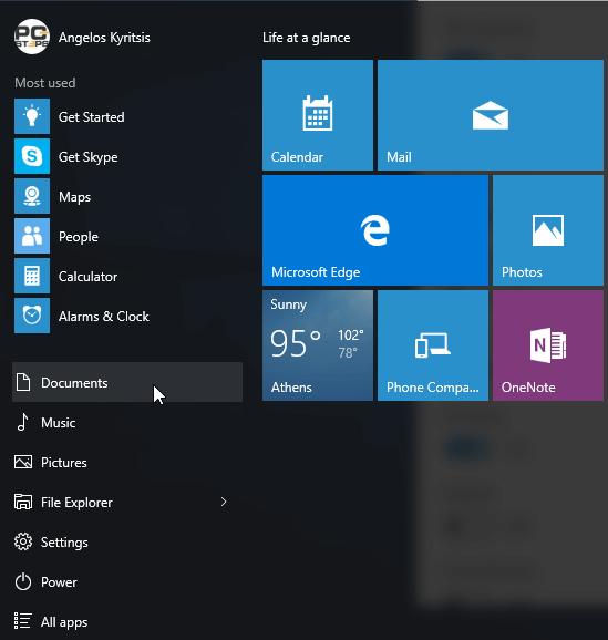 Windows 10 Start Menu - How to Customize It 26