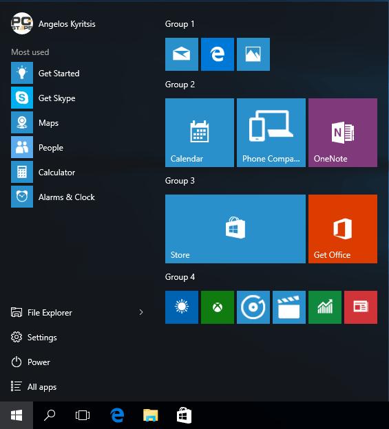 Windows 10 Start Menu - How to Customize It 31