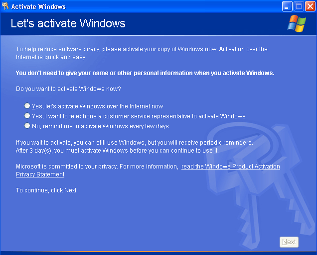 Windows Activation - How it Works and How it Breaks