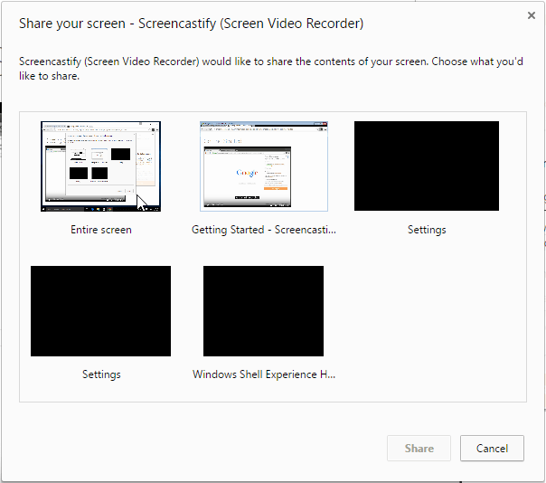 Desktop Recording on Windows Linux Mac OS X with Chrome 06
