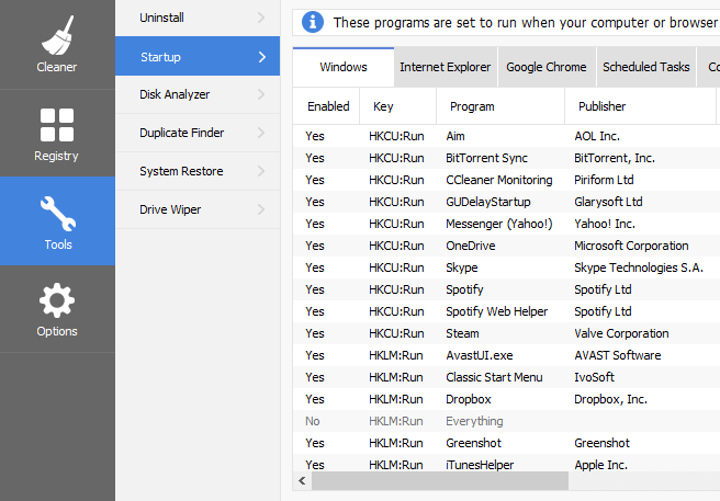 Disable or Remove Startup Apps to Speed Up Windows 10
