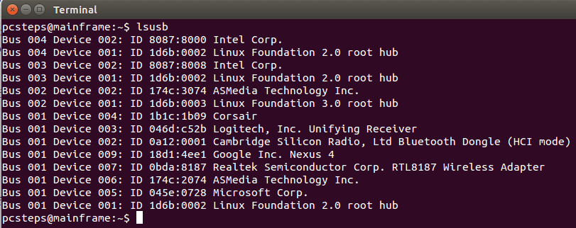 Find Linux Hardware Information in Linux Mint - Ubuntu 09