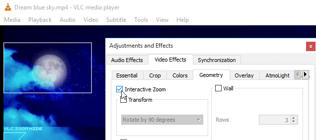 Zoom Video Playback with VLC Media Player | PCsteps com