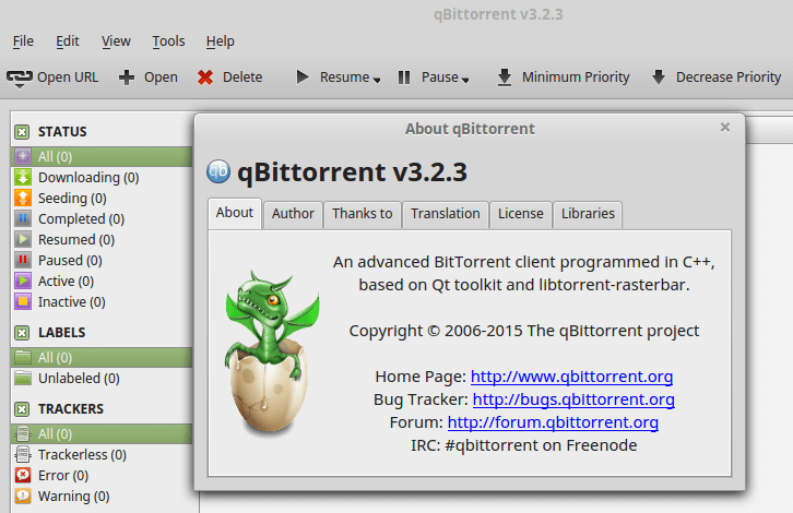 Install qBittorrent (the Latest Version) on Linux Mint