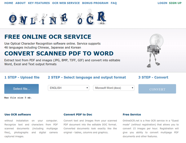 Online OCR - The Best Free Services 01