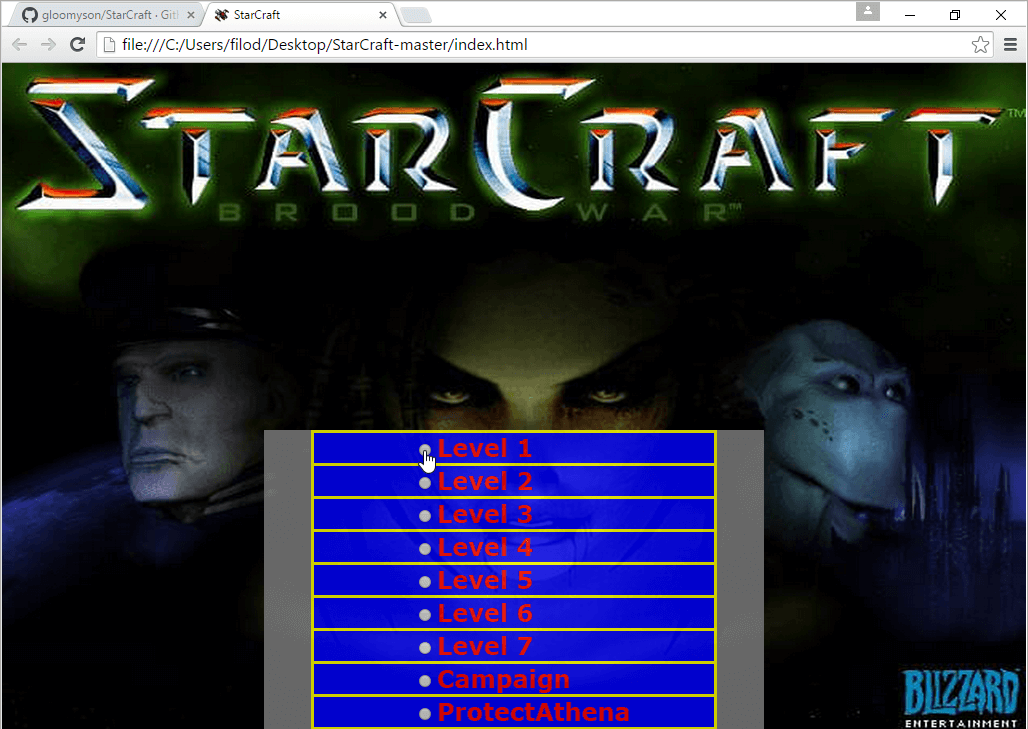 Play StarCraft in your Browser, with an Unofficial Port