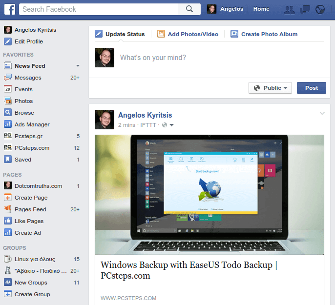 Facebook Keyboard Shortcuts, for Faster Navigation 01