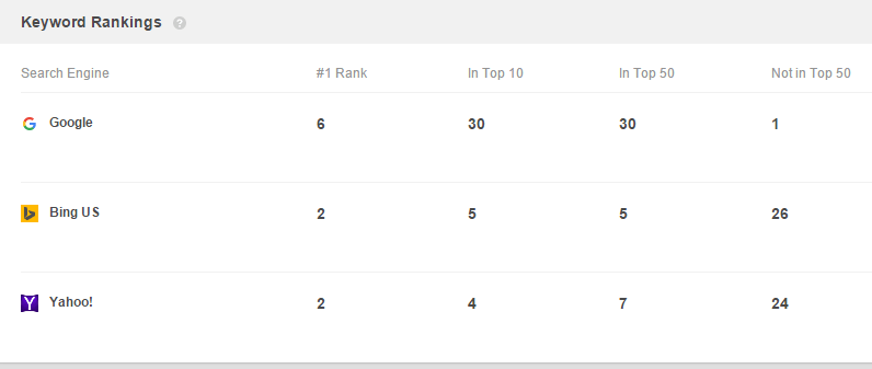 Find your Website Rank for SEO with Rank Tracker 13