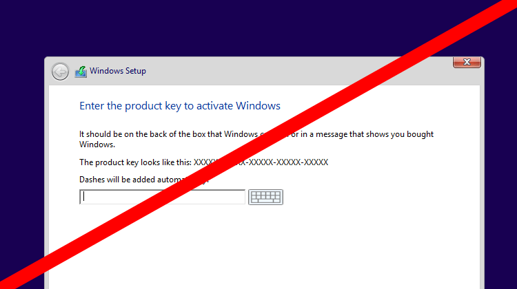 check installed license key windows