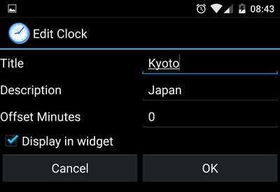 Manage Multiple Time Zones with an Android Widget | PCsteps com