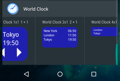 Manage Timezones with an Android Home Screen Widget 07