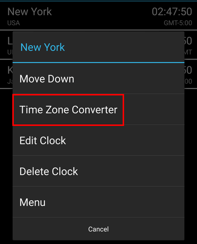 Manage Timezones with an Android Home Screen Widget 09
