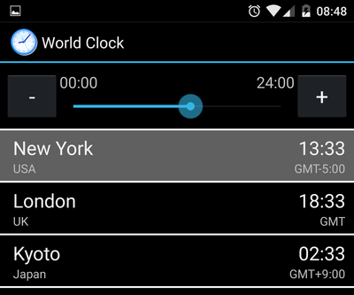 Manage Timezones with an Android Home Screen Widget 10
