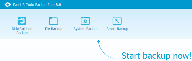 Windows Backup with the Excellent EaseUS Todo Backup 01