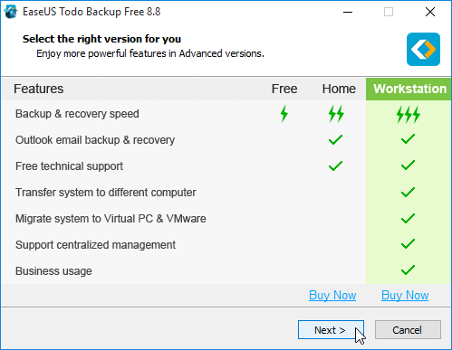Windows Backup with the Excellent EaseUS Todo Backup 05