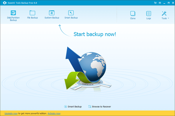 Windows Backup with the Excellent EaseUS Todo Backup 10