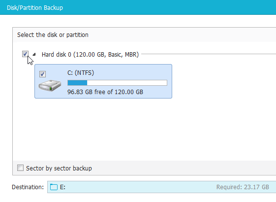 Windows Backup with the Excellent EaseUS Todo Backup 11