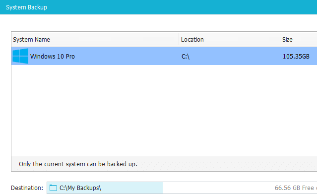 Windows Backup with the Excellent EaseUS Todo Backup 26